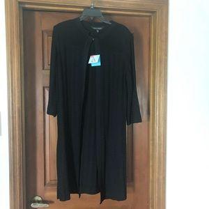 NWT Ming Wang Black Jacket Size Small